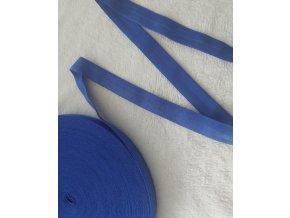Lesklá lemovací pruženka modrá